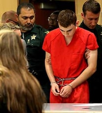 Head Bowed, Florida School Shooter Makes First Public Appearance In Court