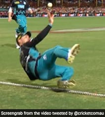 Watch: McCullum's Incredible Boundary-Line Save Sparks Massive Debate