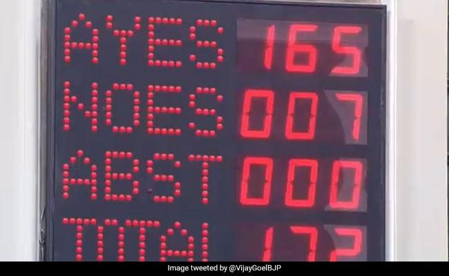 मोदी सरकार की बड़ी जीत, राज्यसभा से भी पास हुआ सवर्ण आरक्षण बिल, समर्थन में पड़े 165 वोट