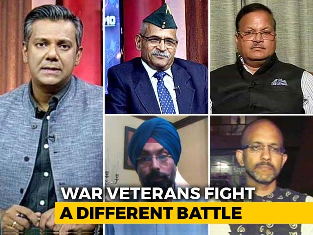 Video : Denied Disability Pension, War Veterans Fight Another Battle