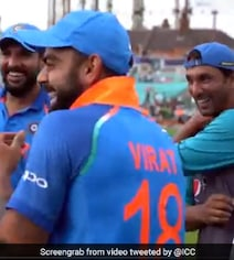 Malik, Kohli Had A Laugh After Champions Trophy Final. Here's Why