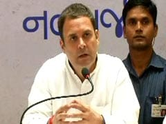 "Gujarat Election 2017 Highlights: PM Has Stopped Using The Word ""Corruption"", Says Rahul Gandhi"