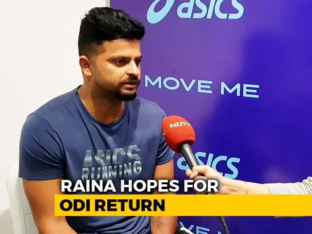 Video : Hope To Make ODI Return For World Cup: Suresh Raina