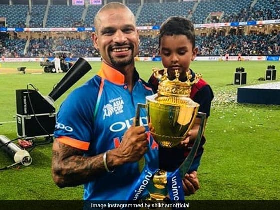 """Dhawan Shares """"Best Moment"""" From India vs Bangladesh Final"""