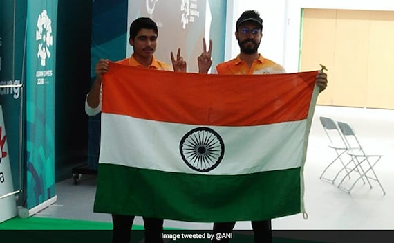 Shooter Saurabh Chaudhary,16, Wins Gold; Abhishek Bags Bronze At Asiad