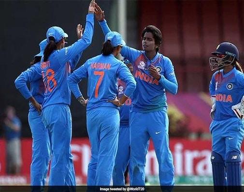ICC Women's World T20: Spinners Shine, India Beat Ireland To Enter Semis