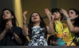 Dhoni Hits Flurry Of Sixes. Watch Wife Sakshi, Anushka Sharma's Reaction