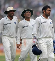 VVS Laxman Reveals How MS Dhoni Celebrated Captaining India For 1st Time