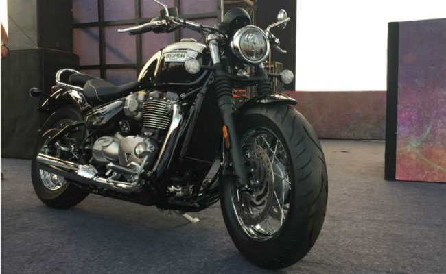 India Bike Week 2017: Triumph Bonneville Speedmaster Makes Its Debut