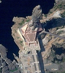 This Is How Statue Of Unity Looks From Space. See First Image