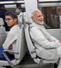 PM Modi's 14-Minute Metro Ride To Dwarka Event To Avoid Traffic Jam