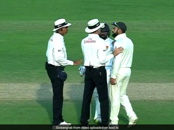 Watch: Virat Kohli Left Fuming By Niroshan Dickwella's Antics