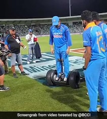 Check Out Virat Kohli And MS Dhoni's New Wheels In New Zealand. Watch