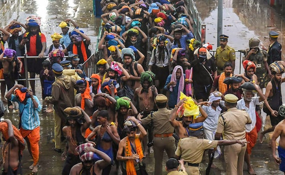 Shutdown Call After Right-Wing Leader's Arrest Near Sabarimala: 10 Points