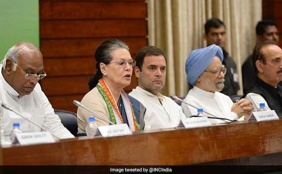 'Voice Of India': Rahul Gandhi On Role Of Congress At Key Party Meet