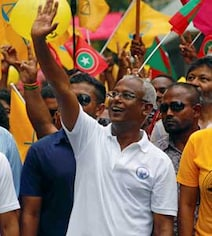 Maldives's Ibrahim Mohamed Solih Declares Victory In Presidential Poll
