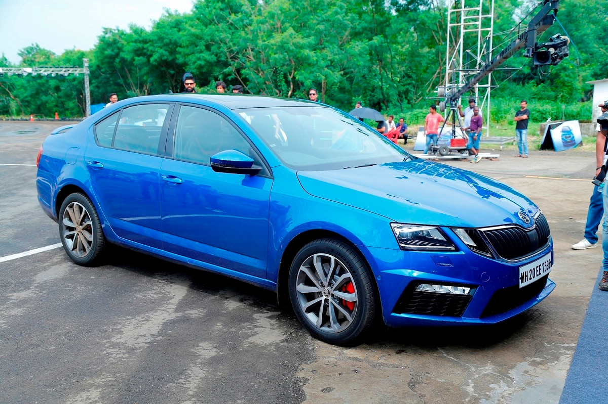 skoda octavia rs india launch highlights specifications interior price images ndtv carandbike. Black Bedroom Furniture Sets. Home Design Ideas