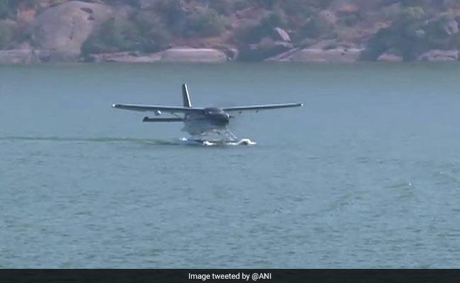 Image result for PM Modi seaplane