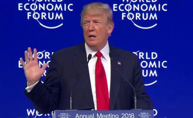 Donald Trump Warns Davos On Unfair Trade, Says US 'Open For Business'
