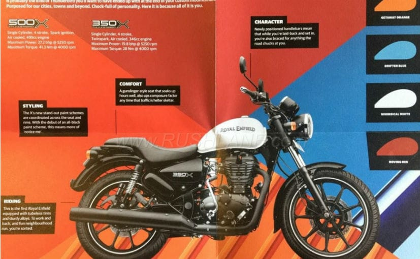 Royal Enfield Thunderbird 350x And 500x Launch Highlights Prices