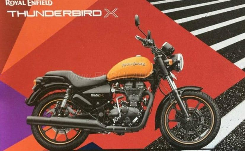 thunderbird 350x colours