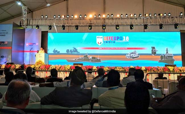 "DefExpo 2018: PM Modi Talks Of ""Transformation"" Of India's Defence Sector"