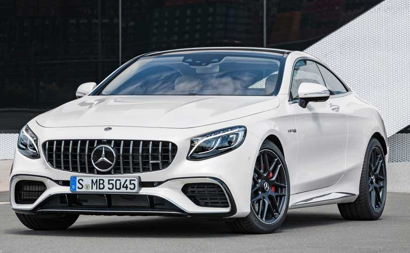 The 2018 Mercedes Amg S63 Coupe Is Fourth Offering To Go On This Year And Gets Extensive Upgrades Aesthetically Its Driving Dynamics