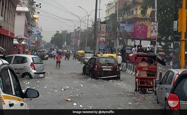 Delhi Weather Updates: Heavy Rain Lash Parts Of Delhi-NCR