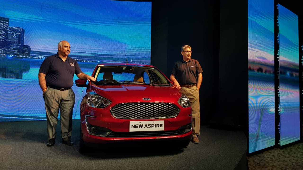 ford aspire facelift india launch live updates: specifications