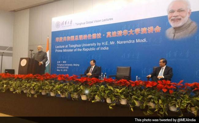 Prime Minister Narendra Modi Announces Electronic Visas for Chinese Tourists