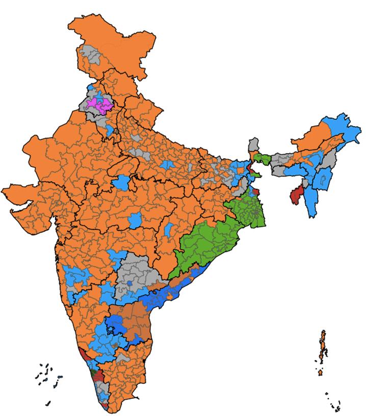 Loksabha 2014 results