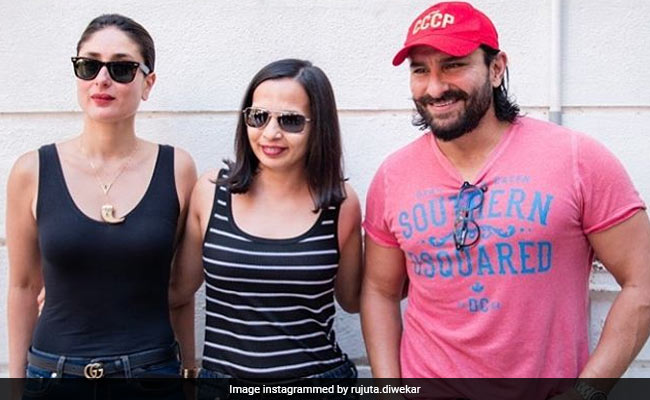 Kareena Kapoor Reveals Her Diet And Discusses Healthy Eating With Rujuta And Saif
