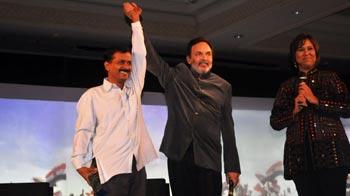 Video : इंडियन ऑफ द ईयर बने अरविंद