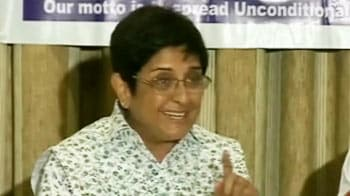 Video : Kiran Bedi's travel agent quits as trustee of her NGO