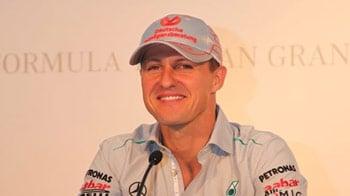 Video : We'll do better in the race: Schumacher