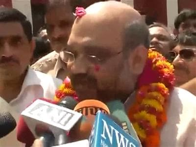 Video : Modi's close aide Amit Shah takes charge of Uttar Pradesh
