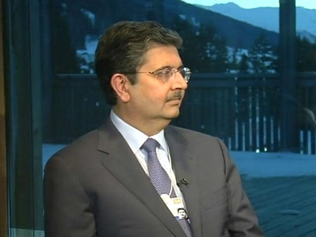Video: Less negative perspective about India in Davos: Uday Kotak