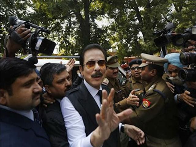 Video : This is the best award a country could give me: Subrata Roy