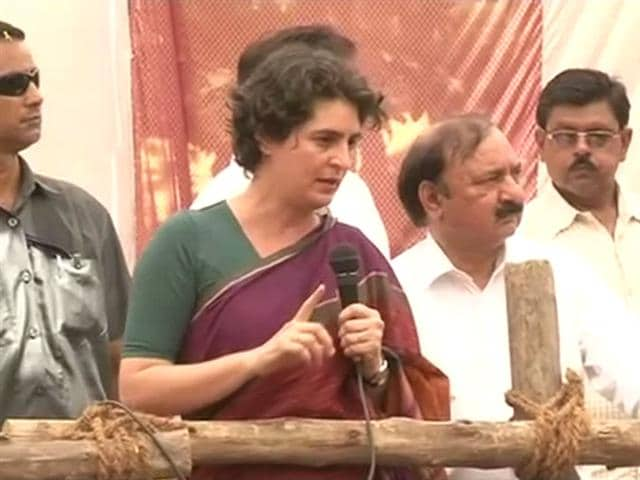 Video : Priyanka references Snoopgate, asks 'is this how they empower women'?