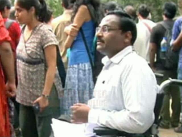 Video : Delhi University Professor Saibaba Arrested For Alleged Maoist Links