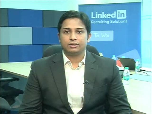 Video : Hiring Sentiment Improving in India: LinkedIn