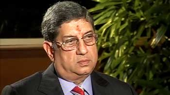 Video : BCCI President N Srinivasan open to talks with Sahara