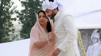 Video : Saif, Sharmila at the rasam pagdi ceremony