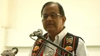 Video : Chidambaram asks Nagas to end blockade in Manipur