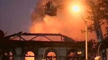 Video : मुंबई : नेवल डॉकयार्ड में लगी आग