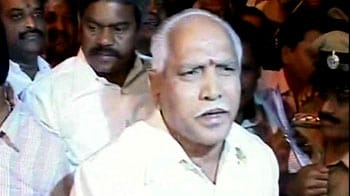 Video : Yeddyurappa leaves jail 25 days after arrest