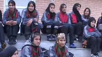 Afghan girls break barriers through soccer