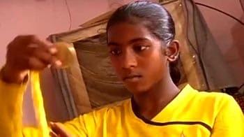 Video : Aiming high and big: Slumgirl footballer Bishnupriya