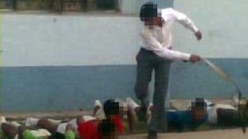 Video : Cellphone clip shows seniors hitting younger students with belt