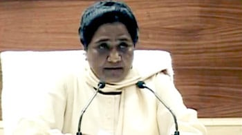 Video : Mayawati wants to divide UP into 4 states, other parties cornered
